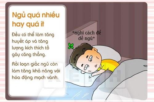 ngủ không điều độ không tốt cho trái tim của bạn